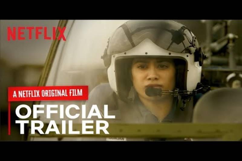 GUNJAN SAXENA: The Kargil Girl | Official Trailer | Netflix India
