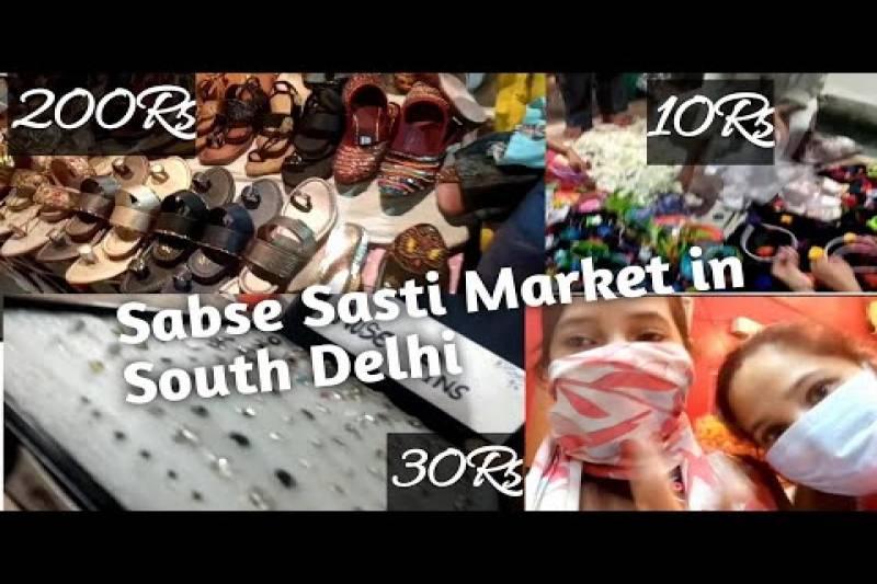 Sabse Sasti Market in South Delhi| Madangir Market|Sheetal Jarwal