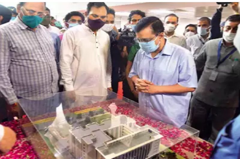 Arvind Kejriwal: CM Arvind Kejriwal inaugurates 600-bed hospital in south Delhi | Delhi News - Times of India
