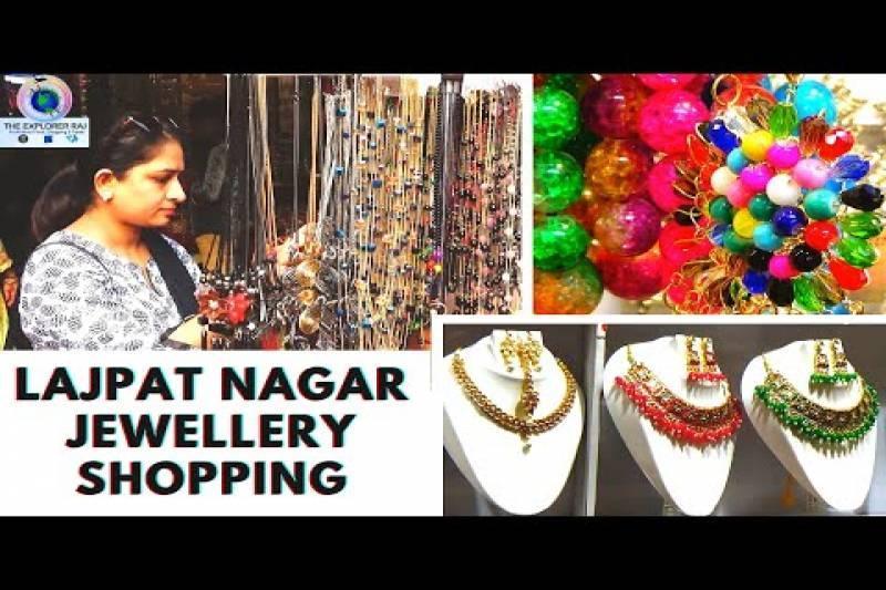 Lajpat Nagar Market Delhi | Street Jewellery Shopping | Best Places to Buy Street Jewellery | Part-1