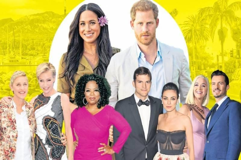 The Santa Barbara set: inside the glamorous world Harry and Meghan can now call home