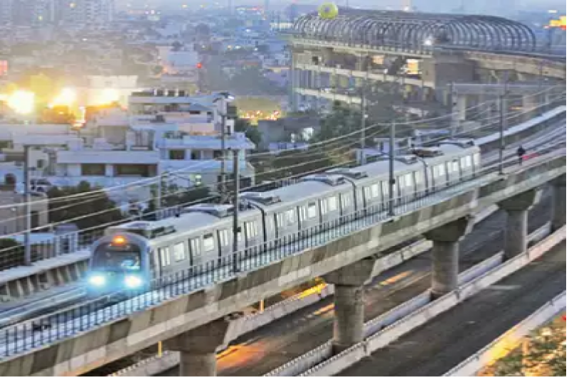 Delhi: Work starts on corridor with metro's first 'double deck'