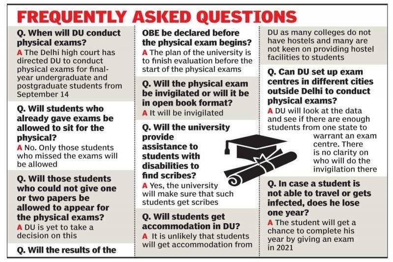 Writing on the wall: Delhi University in race against time for September 14 exams | Delhi News - Times of India