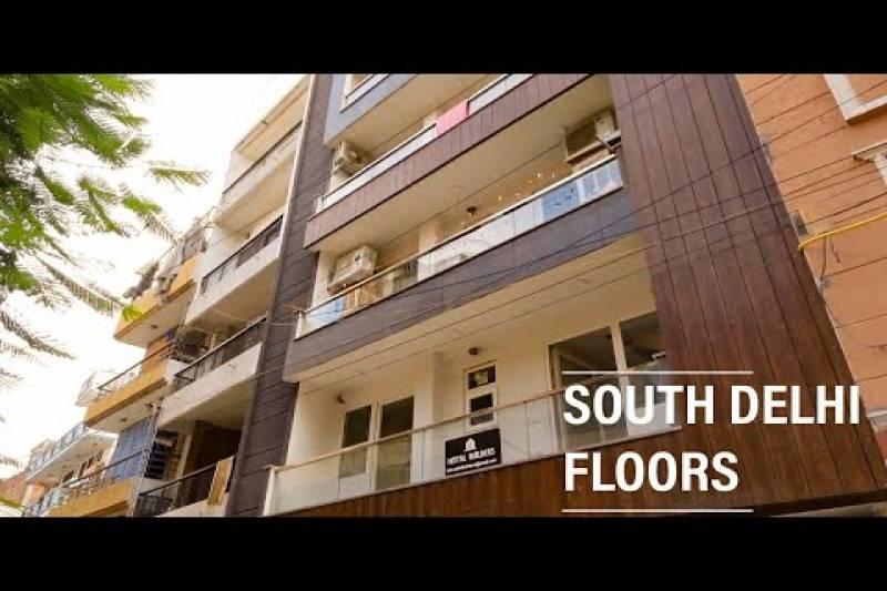South Delhi Floors 3BHK Sant Nagar East of Kailash | Iamindian