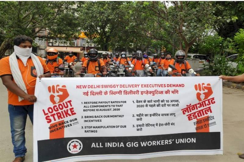 "How Swiggy threatened to ""suspend"" protesting Delhi workers after second pay cut in seven months"