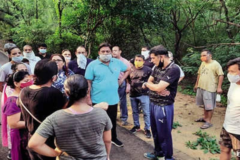 MLA steps in to make south Delhi forest safer for women | Delhi News - Times of India