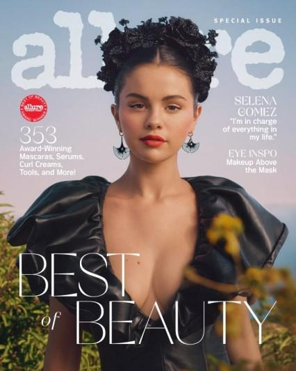 Selena Gomez Did Her Own Makeup to Appear on the Cover of 'Allure'