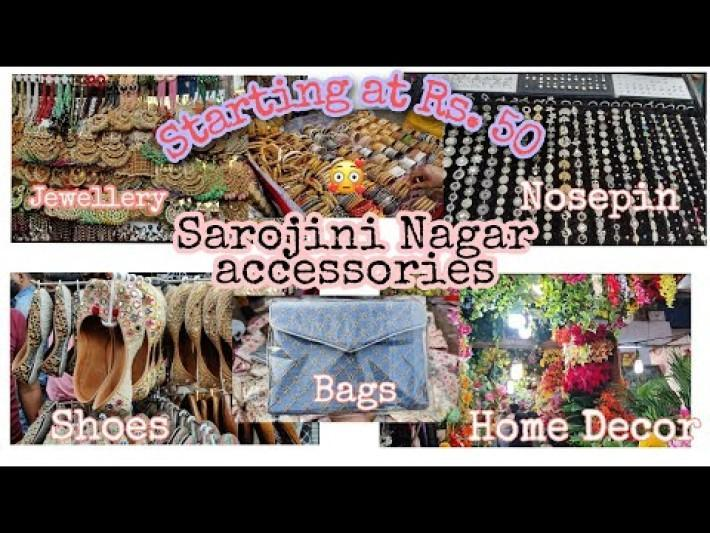 Sarojini Nagar Delhi | Jewellery | Shoes | Home Decor | Bags | SN Accessories |* Latest Collection*