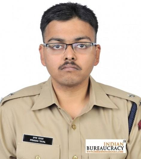 Pranav Tayal IPS appointed Addl DCP-I, South-East Distt, Delhi