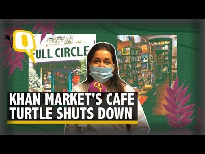 'Like Losing A Friend': Khan Market's Iconic Book Cafe Shuts Down | The Quint