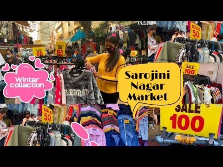 Sarojini Nagar WINTER Collection 2020 || sarojini nagar market (sn) South Delhi || winter shop ||