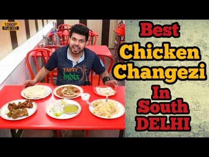 Changezi Chicken At Aziz Chicken Corner Jamia Nagar | South Delhi | Indian Street Food | Tasty India