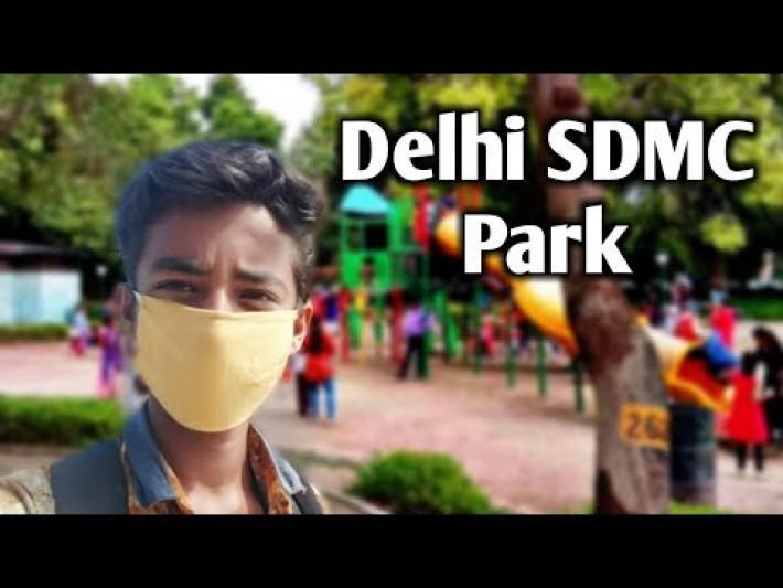 #Lockdown SDMC Delhi Park Covid 19