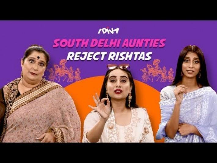 iDiva South Delhi Aunties Reject Rishtas Ft. Seema Pahwa From Aafat