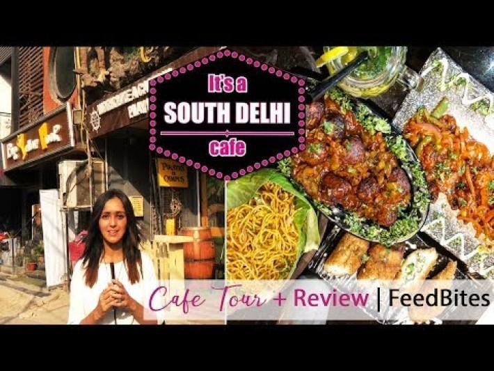 It's a South Delhi Cafe, Satyaniketan, New Delhi | Best Hookah in town | Ribah Khan
