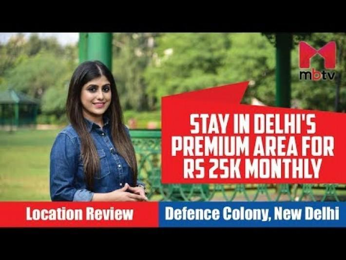 Stay in Delhi's premium area for Rs 25k monthly | Defence Colony, New Delhi S01E80