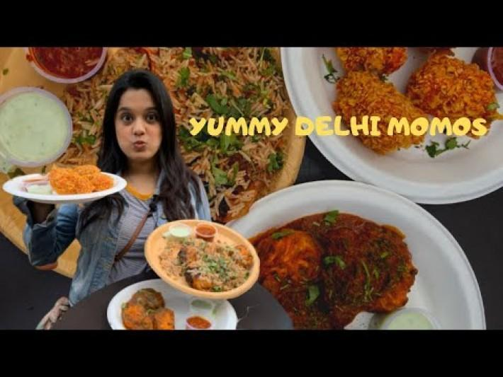 100 TYPES OF MOMOS IN SOUTH DELHI | Changezi Momos, Afghani Momos, Biryaani Momos