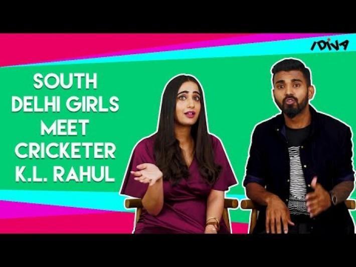 iDIVA South Delhi Girls Meet Cricketer K.L. Rahul