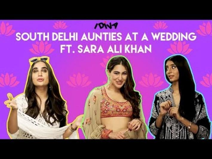 iDiva South Delhi Aunties Met Sara Ali Khan At A Wedding