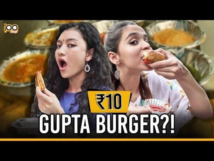 CHEAPEST Street Food Challenge In South Delhi | Cheap Eats In Rs 100 ft. Cherry Bomb