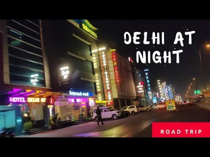 Delhi City Tour By Road at Night CP, India Gate Circle, ITO , Green Park, Dhuala Kuan & Mahipalpur