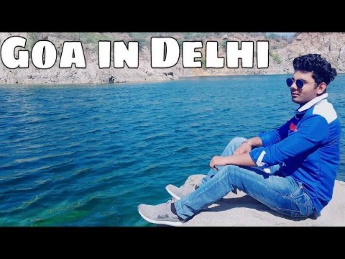 Goa Near Delhi?? Best Place To Hangout Near DelhiDeath Valley Lake/Fun Activities To Do in Delhi