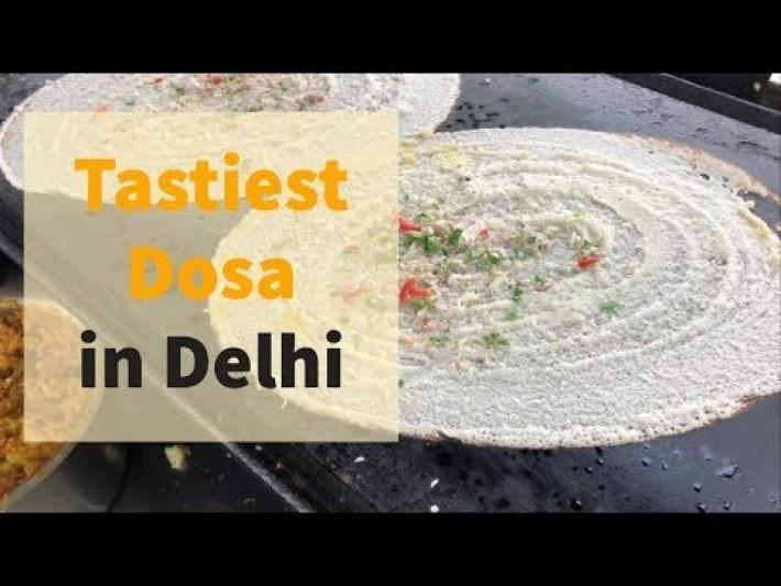 BEST DOSA IN SOUTH DELHI | DELHI STREET FOOD