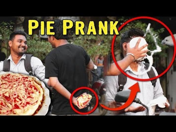 PIE IN THE FACE PRANK | FUNNIEST REACTION | PRANKS IN INDIA | PRANKS 2019 | YoutubeWale Prank