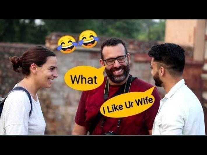 Funny English Loudly Speaking Prank On Foreigners    Prank In India    Zia Kamal