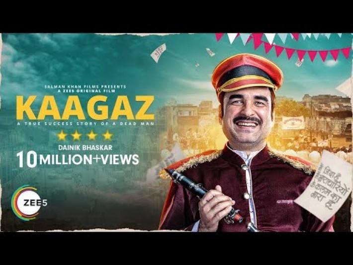 Kaagaz | Official Trailer | Pankaj T | Satish K | A ZEE5 Original Film | Streaming Now on ZEE5