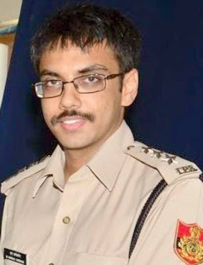 M Harsha Vardhan IPS posted as Addl DCPI, South district, Delhi