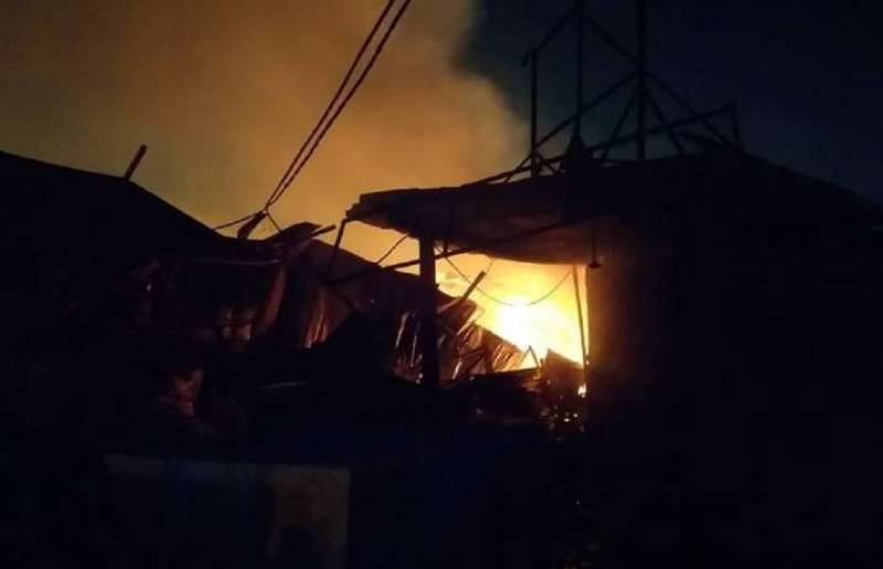 5 rescued from blaze at house in south Delhi