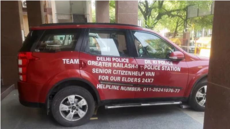 COVI Van to the rescue of senior citizens in South Delhi