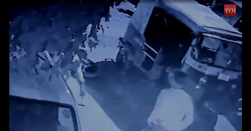 stabbing in delhi: Shocking video: Teen stabbed to death in south Delhi