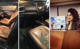 Shocking Car Theft incident with Niyanta Sinha in South Delhi