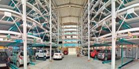 Approval for puzzle parking in south Delhi