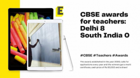CBSE awards 22 teachers for their excellence in teaching and leadership: Delhi: 8, South India: 0