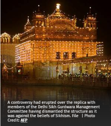 Talks on with Sikh leaders over Golden Temple replica: South Delhi Mayor