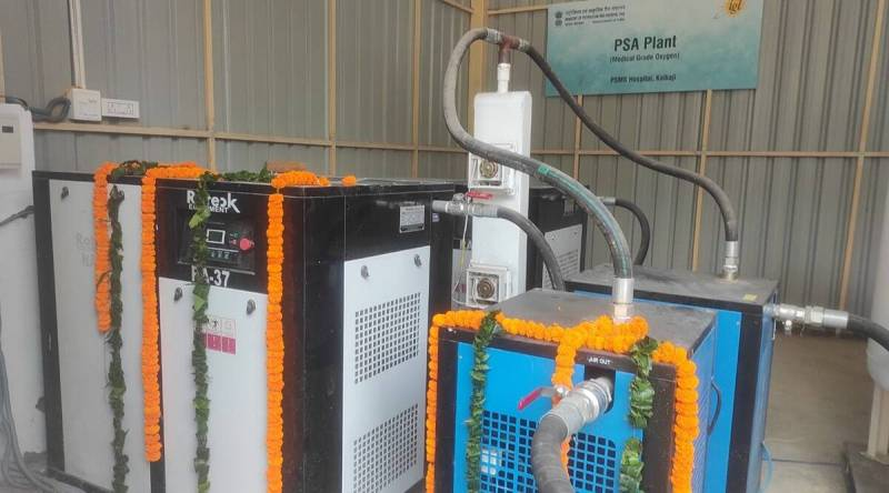 South Delhi Municipal Corporation hospitals get PSA oxygen plants